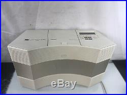 Bose Acoustic Wave Music System Stereo Radio CD Player Model CD 3000 With Aux