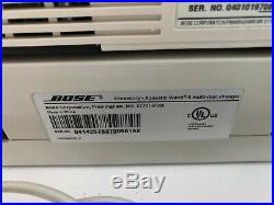 Bose Acoustic Wave Radio Music System II CD & 5-CD Multi-Disc Changer withRemote
