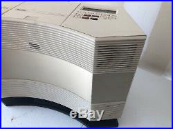 Bose CD-3000 Acoustic Wave Music System AM/FM CD Player With Base