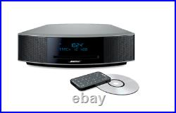 Bose WAVE Music System IV Radio with Remote Platinum Silver FREE SHIPPING