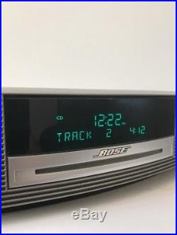 Bose Wave 3 Music System 3 Radio CD Alarm with1 Remote, Top Touch Sensory, nice Bass