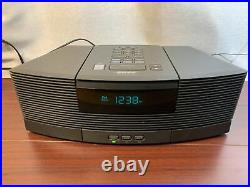 Bose Wave AM FM Radio Aux CD Player With Aux Pedestal And RCA Cable
