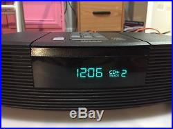 Bose Wave AM/FM Radio CD Player AWRC1G with Remote New CD Optical Lens- Very Clean