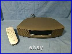 Bose Wave AWRCC1 Music System Speaker Radio CD Player with Remote Tested