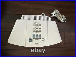 Bose Wave AWRC-1P Stereo CD Player & Radio Bright White TESTED/SOUNDS GREAT
