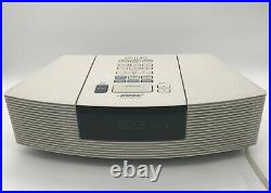 Bose Wave AWRC-1P Stereo CD Player and Radio White Excellent Working No Remote