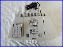 Bose Wave AWRC-1P Stereo CD Player and Radio with Remote White