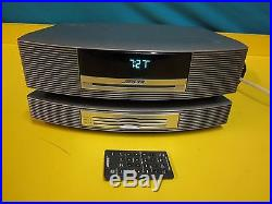 Bose Wave CD Radio Music System with 3 CD Changer & Remote Fully Tested