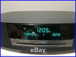 Bose Wave III 3 Graphite Music System Radio CD Player w Remote & Touchtop