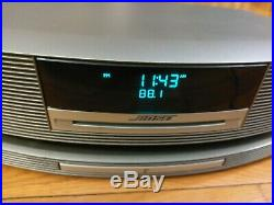 Bose Wave III 3 Platinum Silver Music System Radio CD Player w Touchtop & Wi-Fi