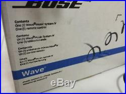 Bose Wave IV Music System CD Player AM/FM Radio (NOTES) (AM1048608)