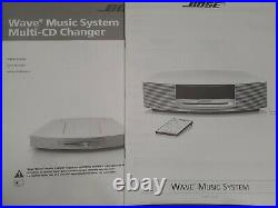 Bose Wave Music CD AM/FM Radio WithMulti-CD Changer 2 Remote And Manuals EXCELLENT