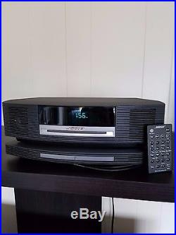 Bose Wave Music III, SoundTouch Wireless Pedestal with Remote, AM/FM Radio & CD