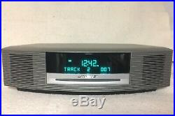 Bose Wave Music System AM/FM Radio Alarm Clock and CD Player with Remote