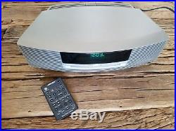 Bose Wave Music System AM/FM Radio, CD Player & Alarm withremote- Graphite
