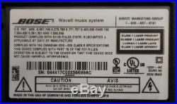 Bose Wave Music System AM FM Radio CD Player w Remote TESTED WORKING