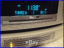 Bose Wave Music System AM FM Radio Multi CD Changer with Remote Unit Works Great