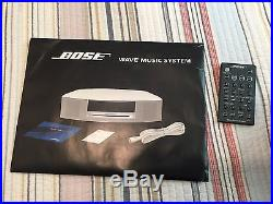 Bose Wave Music System AWRCC1 CD Player AM/FM Radio withremote and User Guide