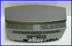 Bose Wave Music System AWRCC1 Silver Stereo CD Player Radio Complete Working