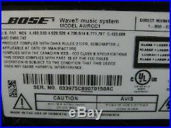 Bose Wave Music System AWRCC1 Stereo CD Player Radio & Remote See Video TopWorks