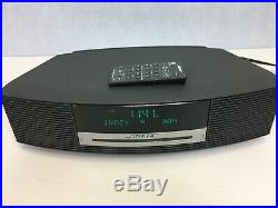 Bose Wave Music System AWRCC1 Stereo CD Player Radio with Remote Black