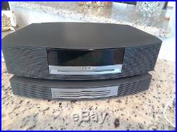 Bose Wave Music System AWRCC1 WithMulti CD Player AM/FM Stereo Radio. Read desc 2Pc