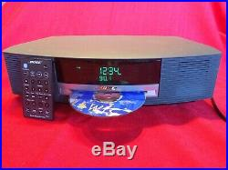 Bose Wave Music System AWRCC1 with Remote CD Player/ AM/FM Radio/AUX SN#6015
