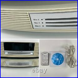 Bose Wave Music System AWRCC2 CD Changer AM/FM/AUX With Remote Tested Working