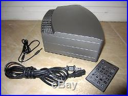 Bose Wave Music System Awrcc1 Radio CD Player Alarm Clock Iphone Cable Silver