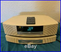 Bose Wave Music System CD AM/FM Radio AUX AWRCC2 With Multi-CD Changer & Remote