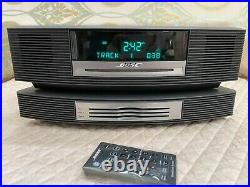 Bose Wave Music System CD AM/FM Radio AUX With Multi-CD Changer & Remotes