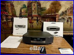 Bose Wave Music System CD/ Radio Silver with Remote Control Great Condition