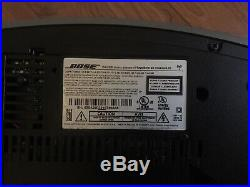 Bose Wave Music System III CD Player AM/FM Radio Clock with remote and remote dock
