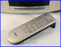 Bose Wave Music System III Clock Radio AM/FM/CD Touch top Premium Remote