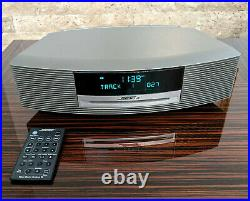 Bose Wave Music System III Radio AM/FM CD Player Alarm Graphite Great Condition
