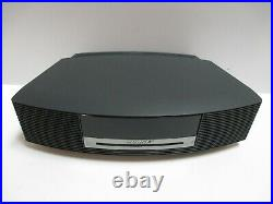 Bose Wave Music System III Radio AM/FM CD Player Alarm Graphite with Remote