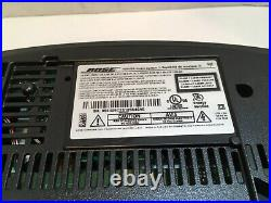 Bose Wave Music System III Radio AM/FM CD Player Alarm with Remote Black EXC COND