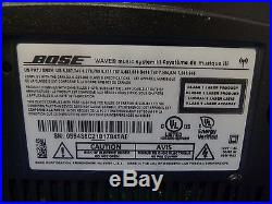Bose Wave Music System III Radio And CD Player Wi-fi Gray With Remote