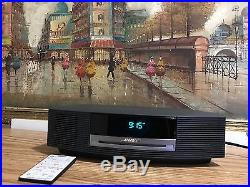 Bose Wave Music System III Radio/CD/Graphite Color With Remote Control Excellent
