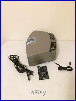 Bose Wave Music System III Radio CD Player Dual Alarm Clock Silver Touch Top