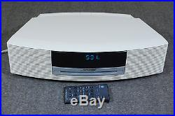 Bose Wave Music System III White CD / AM/FM Radio / Alarm Barely Used Condition