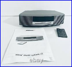 Bose Wave Music System III WithTouch Panel Cd Player AM/FM Radio Bose Sound