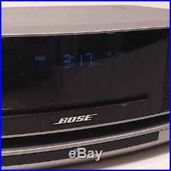 Bose Wave Music System IV 417788-WMS CD Player AM/FM Alarm Radio With SoundTouch
