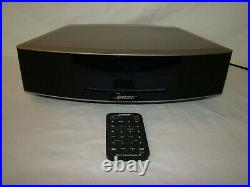 Bose Wave Music System IV AM/FM Radio/CD Player Silver Nice WithRemote