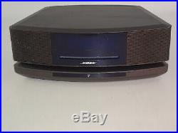 Bose Wave Music System IV AM/FM Radio Player, Stand Pedestal, Generic Power Cord