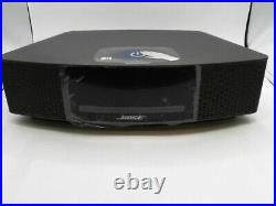 Bose Wave Music System IV EXPRESSO BLACK Remote CD Player & AMFM Radio TOUCHPAD
