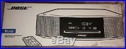 Bose Wave Music System IV Expresso Black Brand New In Box CD Player Am/fm Radio