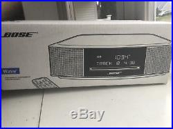 Bose Wave Music System IV Remote, CD Player and Radio- Espresso Black, Brand New