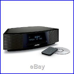 Bose Wave Music System IV Remote, CD Player and Radio- Espresso Black VERY NICE