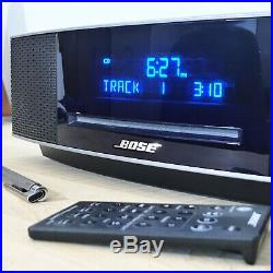 Bose Wave Music System IV Wave Radio 4 with CD Player & Remote Platinum Silver